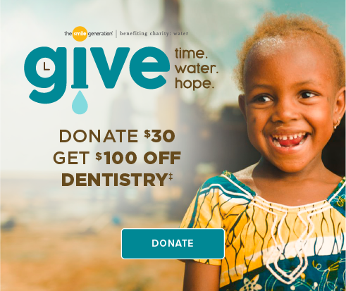Donate $30, Get $100 Off Dentistry - Aurora Modern Dentistry